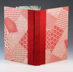 Blank Book Blank Paper Journal PATCHWORK by #WolfiesBindery.. . Perfect for the Journalist/Diarist & Artist too. Fill your book with the written word, sketches or a combination of both.