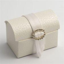 Antique White Pelle Cofanetto / Chest Favour Boxes Pack of 10