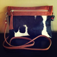NEW-Cow Hide Sable Kupplung Cross Body Bag.This Qualität, einzigartige Tasche, Kuh Ausblenden einer Leder-die andere Seite. Strong und stylish, Metall Zip, langen Riemen