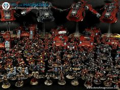 Blood Angels Massive Army - Den of Imagination