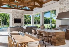 """Find out additional info on """"outdoor kitchen designs layout patio"""". Look into ou… Find out additional info on """"outdoor kitchen designs layout patio"""". Look into our internet site. Outdoor Living Rooms, Outdoor Spaces, Living Spaces, Outdoor Decor, Outdoor Ideas, Outdoor Patios, Outdoor Bars, Outdoor Life, Outdoor Seating"""