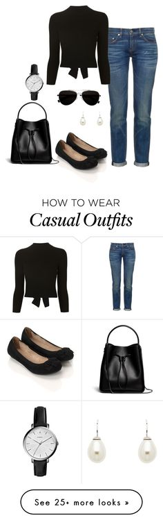 """""""Casual"""" by nikke9doors on Polyvore featuring rag & bone, Accessorize, Alexander McQueen, Calvin Klein, Finesse, FOSSIL and 3.1 Phillip Lim"""