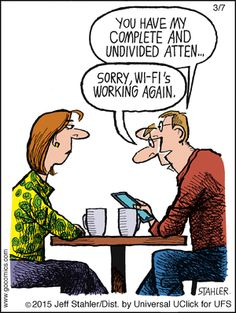 How to ensure your iPad is your only friend. | Read Moderately Confused #comics @ http://www.gocomics.com/moderately-confused/2015/03/07?utm_source=pinterest&utm_medium=socialmarketing&utm_campaign=social-pin | #GoComics #webcomic