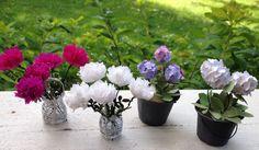 Hortenssiat ja pionit Vase, Home Decor, Decoration Home, Room Decor, Vases, Home Interior Design, Home Decoration, Interior Design, Jars