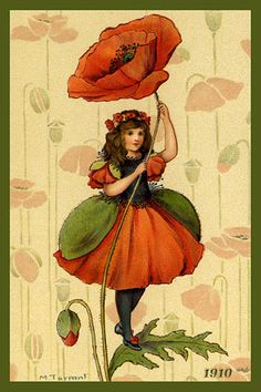 Margaret Tarrant - Flower Girl 'Poppy'