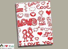 Tablou colaj I Love You - cod I Love You, My Love, Cod, Te Amo, Je T'aime, Cod Fish, Atlantic Cod, Love You