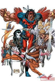 X-Force by Rob Liefeld Warpath - Domino - Cannoball - Feral - Shatterstar- Cable - Boomer. Marvel E Dc, Marvel Comics Art, Marvel Heroes, Marvel Universe, Comic Book Artists, Comic Artist, Comic Books Art, Superhero Characters, Comic Book Characters
