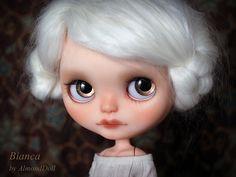 Bianca, custom blythe doll by AlmondDoll