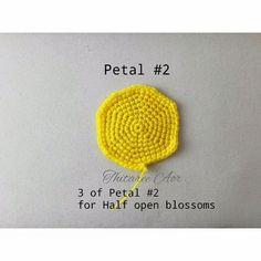 Watch The Video Splendid Crochet a Puff Flower Ideas. Phenomenal Crochet a Puff Flower Ideas. Crochet Puff Flower, Crochet Flower Tutorial, Crochet Leaves, Crochet Flower Patterns, Crochet Flowers, Crochet Hook Set, Crochet Art, Crochet Motif, Crochet Stitches