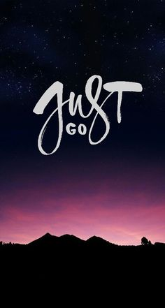 "Pintrest: Sophia Himm ""Just Go"""