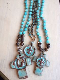 This is an amazing necklace...these beads may be tiny, but the color of them is incredible. They are tiny Czech crystals and are a combination of