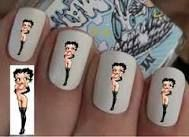 nail art betty boop - Google Search