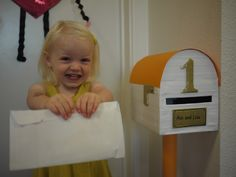 Little Hiccups: You've got mail... DIY letterbox