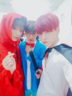 Sangho, Sangil & Woosung    161031 Twitter Update