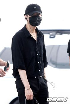 BTS at Incheon Airport Heading to Manila-Philippines [160902] | Suga