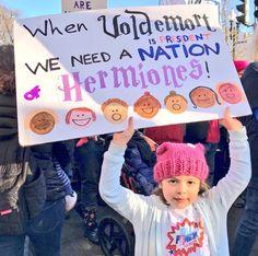 Naar schatting liepen ruim een half miljoen mensen afgelopen zaterdag mee in de Women's March on Washington, om te protesteren tegen president Donald Trump