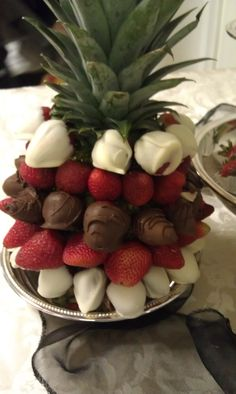 Strawberry Tree...chocolate & strawberries...perfect...