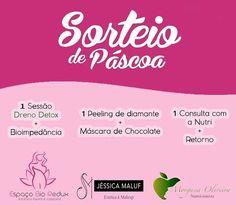 Sorteio Mara De Páscoa!!! Procurem a foto oficial no perfil @espacobioredux !  SORTEIO VALENDO Para participar  1- Seguir as páginas nonInstagram @espacobioredux @jessymalufmakeup @nutrimorganaoliveira  2- Seguir a página Espaço Bio Redux no Facebook  3- Marcar 3 amigas nos comentários  Sorteio realizado dia 10/04 BOA SORTE!!! ( lembrando que 1 ganhadora para todos os presentes)  #espacobioredux #floripa #floripando #vocesemprelinda #rejuvenescimento #bemestar #saude #cuidedevoce…