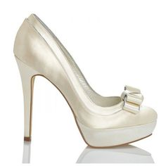 Osiris By Menbur Wedding Shoes http://www.bellissimabridalshoes.com/wedding-heels/Ivory-Menbur-Orsis-Bridal-Shoes