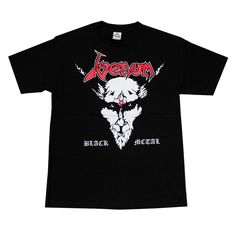 >> Click to Buy << Venom Black Metal Rock Band T-Shirt Red Logo Cheap Sale 100 % Cotton T Shirts for Boys Male Best Selling T Shirt #Affiliate