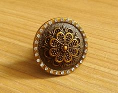 Drawer Knobs Pulls Antique Brass Small Dresser Knobs by LBFEEL