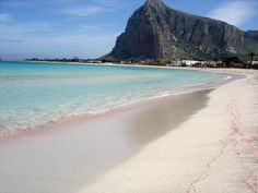 San Vito lo Capo, an hour's drive from Trapani - fabulous beach and little town to wander around...