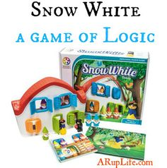 Holiday Gift Guide: Snow White Logic Game