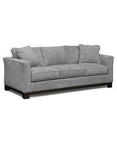 Kenton Fabric Sofa, 88W X 38D X 33H: Custom Colors - Living Room Furniture - furniture - Macy's