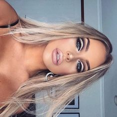 Gorgeous Makeup: Tips and Tricks With Eye Makeup and Eyeshadow – Makeup Design Ideas Glam Makeup, Makeup Inspo, Makeup Inspiration, Makeup Tips, Hair Makeup, Makeup Ideas, Makeup Geek, Makeup Cosmetics, Makeup Shayla
