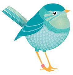 My sunday birdie, from my blog.