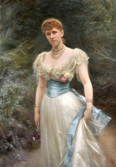 1894 Lady Gertrude Lucia Egerton (1861–1943), Countess of Albemarle by Michele Gordigiani (Tatton Park - Knutsford, Cheshire, UK) From bbc.co via pinterest.com/marianisimova/модерн/.jpg