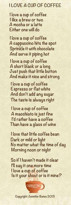 I love coffee!!