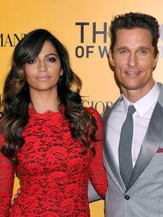 Matthew McConaughey & Camila Alves are perfection