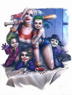 Harley & Her Li'l Jokers - Taweesak Riwsuksan