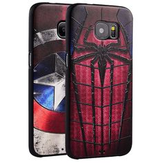 New For Samsung S7 Edge case, 3D Relief painting soft Silicon back cover case for Samsung Galaxy S7 Edge G9350