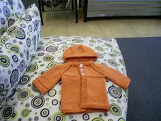 Ravelry: Basic Newborn Cardigan with matching Hat pattern by Angela Humphrey