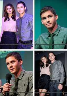 Logan & Alexandra! Can't wait to watch Percy Jackson and the Sea of Monsters!