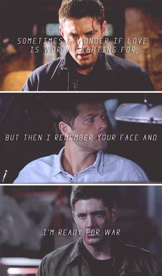 We're gonna save Cas, we're gonna ice the devil, and we're gonna shank the Darkness. And anyone who gets in our way? Well, God help them. #spn #destiel