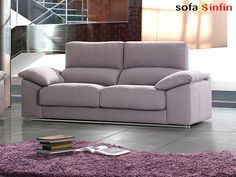 Sofá moderno de 3 y 2 plazas modelo Dylan fabricado por Divani Star en Sofassinfin.es