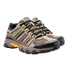 Fila-Men-039-s-Day-Hiker-Trail-Brown-Black-Hiking-Athletic-Shoes-Multiple-Sizes