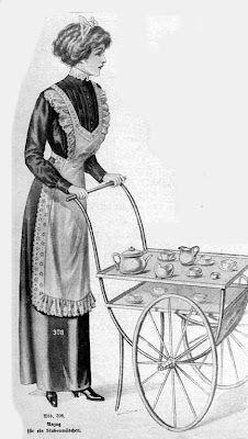 "Housemaid's uniform - ""The World of Women"", 1912"