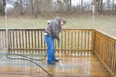 Deck Clean Up and Repair | Tips for making it look new again