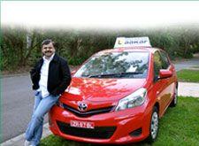 #RajendraGupta Founder of #Aakar #DrivingSchool with car