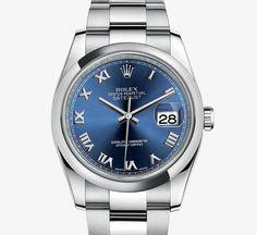 Oyster, 36 mm, steel Rolex Datejust Watch - Rolex Timeless Luxury Watches Top Women's Rolex Watches Elegant Luxury Charisma Classic http://www.slideshare.net/bestwomenwatches/top-womens-rolex-watches-elegant-luxury http://www.rolex.com/watches/datejust/m116200-0060.html