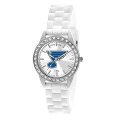 St. Louis Blues Frost Ladies White Wrist Watch
