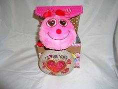 Valentines Pink Lady Bug Plush & Love xoxo Box , I Love Y... https://www.amazon.com/dp/B01N7Q8OKY/ref=cm_sw_r_pi_dp_x_AcwEybCJAZANN