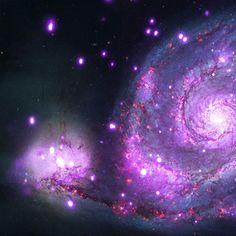 un poco de lo infinito de este universo.