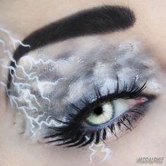 Storm from X-Men eye make up! Male Makeup, Eye Makeup Art, Makeup Geek, Makeup Inspo, Eyeshadow Makeup, Makeup Inspiration, Beauty Makeup, Eye Art, Beauty Nails