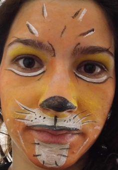karnevals schmink gesichter leopard und schmetterling. Black Bedroom Furniture Sets. Home Design Ideas