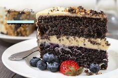 Maková torta bez múky – Karina Cakes Poppy Seed Cake, Mini Cupcakes, Tiramisu, Cake Recipes, Cheesecake, Food And Drink, Cooking Recipes, Gluten Free, Sweets